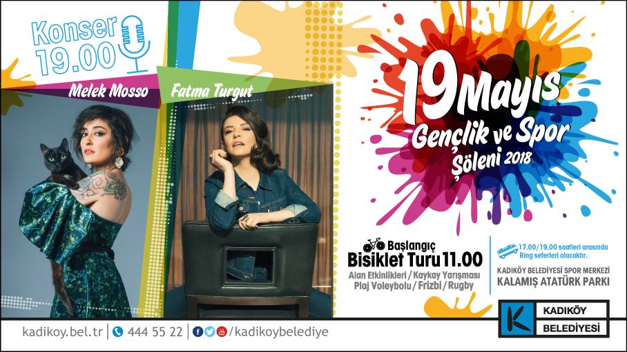Melek Mosso ve Fatma Turgut 19 Mayıs'ta Kadıköy'de Sahnede!..