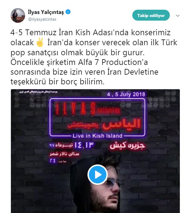 İran'da Konser Verecek İlk Türk Pop Şarkıcısı Kim?