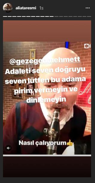 Ali Ata'dan Gezegen Mehmet'e Şok Tepki!..