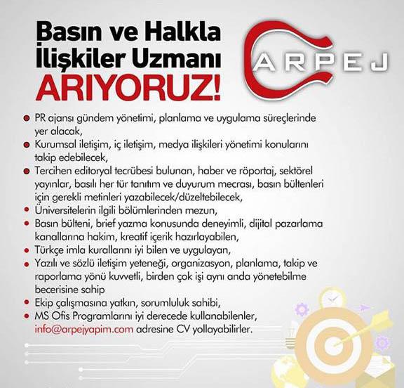 Arpej Müzik'te İş İmkanı!..