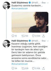 Genç Şarkıcı Onurcan Özcan Suda Kayboldu!..
