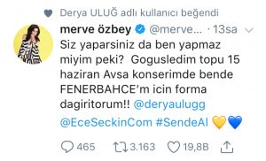 Ünlü Popçular Fenerbahçe Forması Dağıtacak!..