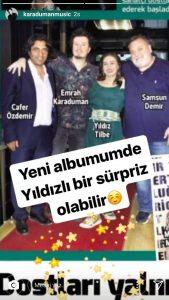 Emrah Karaduman'dan Flaş Yıldız Tilbe Paylaşımı!..