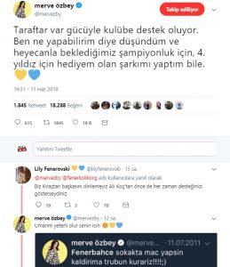 Merve Özbey'den Fenerbahçe'ye Şampiyonluk Şarkısı!..