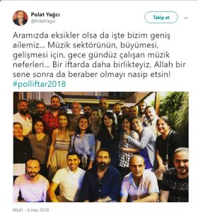 Poll Production Ekibi iftarda Buluştu!..