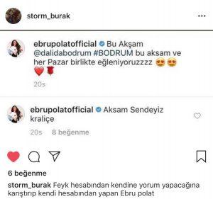 Ebru Polat Kendi Fotoğrafına Yaptığı Yorumla Olay Oldu!..