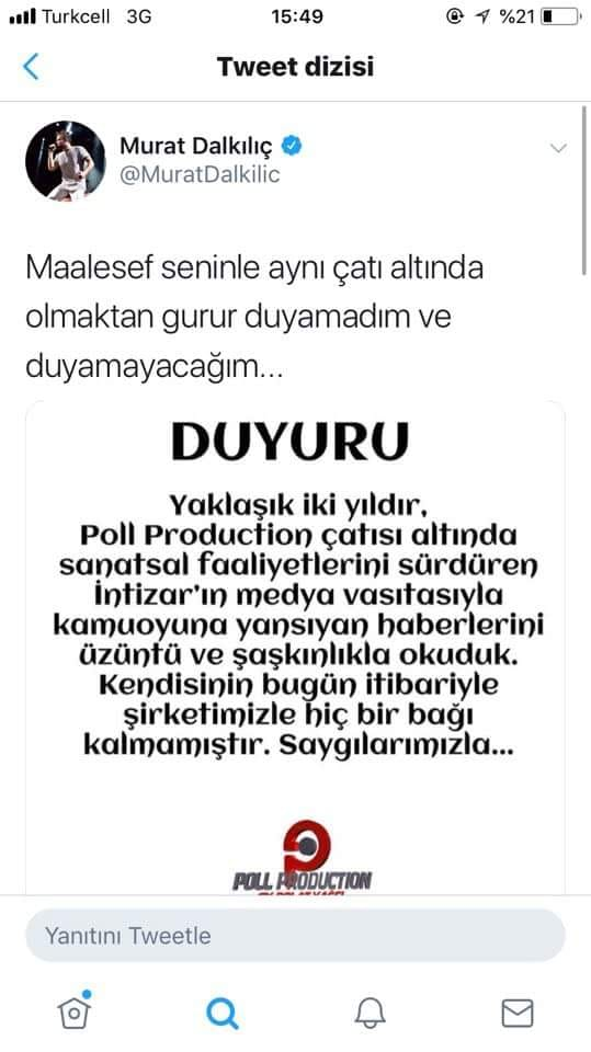 Murat Dalkılıç'tan Polat Yağcı'ya Şok Sözler!..
