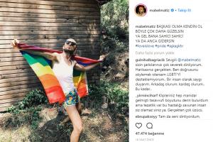 Ünlüler LGBT Onur Yürüyüşü'ne Destek Verdi!..