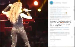 Simge Sağın'ın Olay Yaratan Shakira Paylaşımı!..