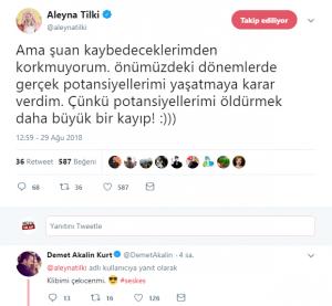 Demet Akalın'dan Aleyna Tilki'ye Teklif!..