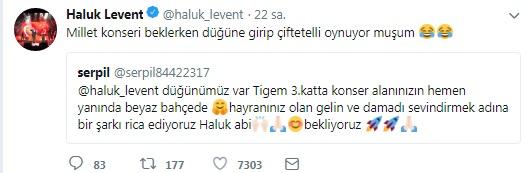 Haluk Levent'ten Hayranlarına Düğün Ziyareti!..