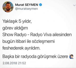 Show Radyo- Radyo Viva'da Kan Kaybı!..