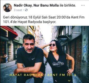 Hayat Radyoda Başlıyor!..