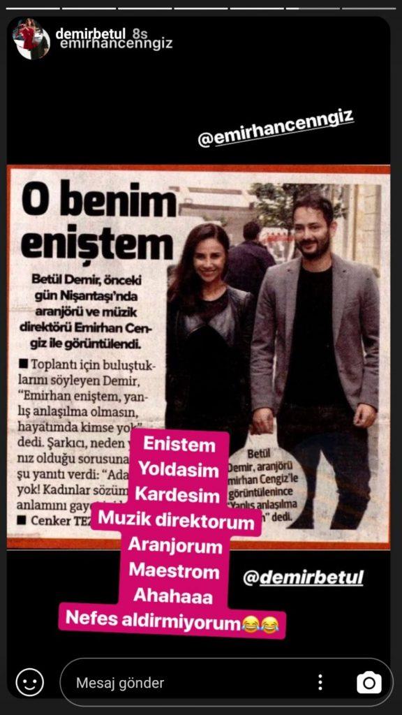 Betül Demir İle Emirhan Cengiz El Ele Görüntülendi!..