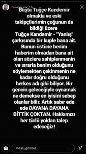 Tuğçe Kandemir'in O Şarkısıyla İlgili Şok İddia!..