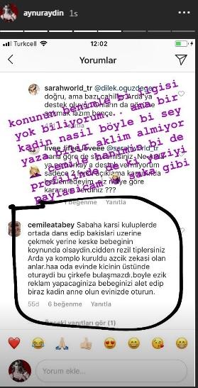 Aynur Aydın'dan Özlem Ada Şahin'e Destek!..