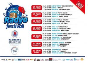 Kağıthane Radyo Festivali Başladı!..