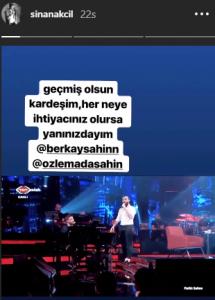 Ünlü Şarkıcılardan Berkay'a Destek!..