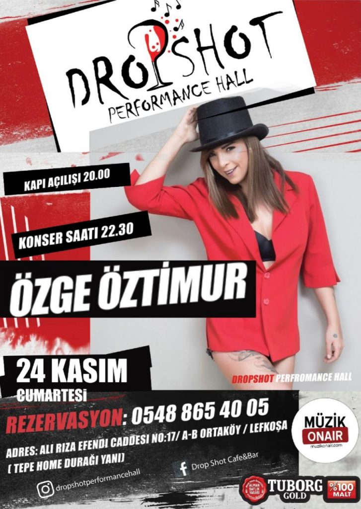 Müzik Onair Sponsorluğunda Özge Öztimur Konseri!..