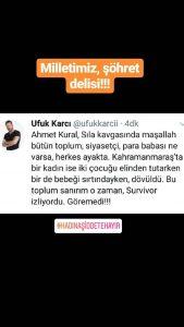 Ufuk Karcı: 'Ahmet Kural- Sıla Kavgasında Maşallah Herkes Ayakta…'