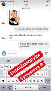İrem Derici'den Powertürk'e: 'Oturun Da Yanlış Alarm Çalın!'