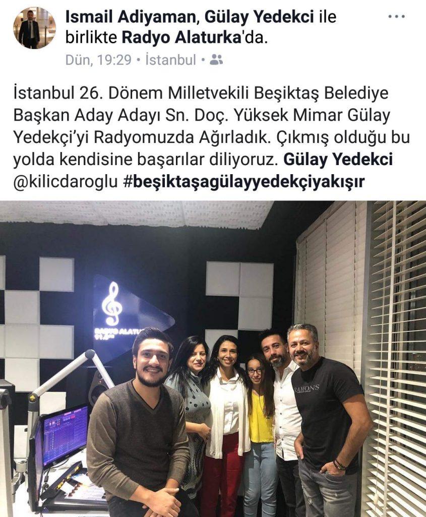 Gülay Yedekçi Radyo Alaturka'ya Konuk Oldu!..