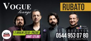 Müzik OnAir Medya Sponsorluğunda Rubato Konseri!..