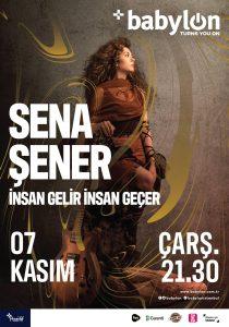 Sena Şener Yeni Albümün İlk Konserini Verecek!..