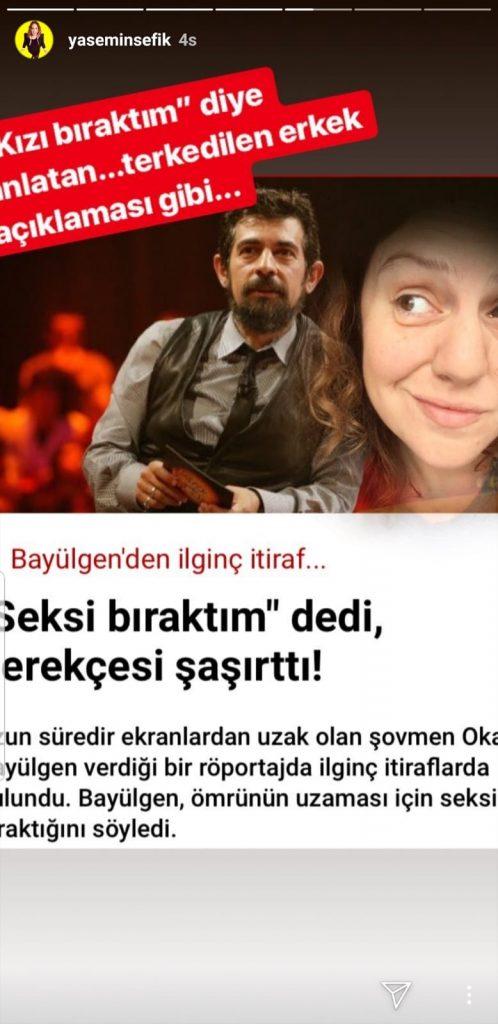 Yasemin Şefik Okan Bayülgen'i Ti'ye Aldı!..