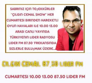 'Çılgın Cemal Show'un Yeni Frekansı Belli Oldu!..