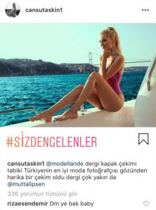Rıza Esendemir'den Cansu Taşkın'a 'Samimi' Yorum!