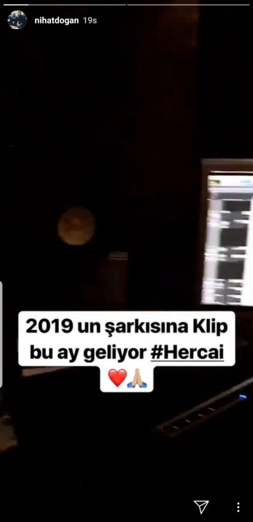 Nihat Doğan 'Hercai' Şarkısına Klip Çekiyor!