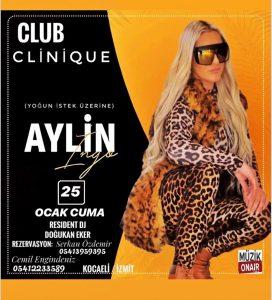 Aylin İngo Club CLİNİQUE DJ Kabinde !
