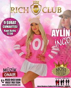 Aylin İngo Rich Club'ta !