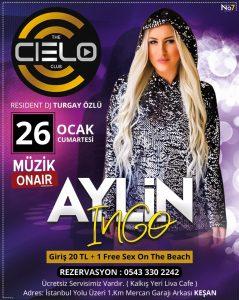 Aylin İngo The Cielo Club'ta!