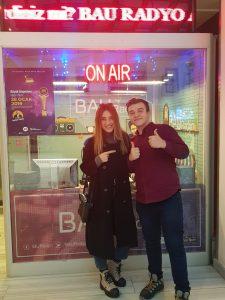 Merve Toy BAU Radyo'da Potanın Ejderlerine Konuk Oldu !
