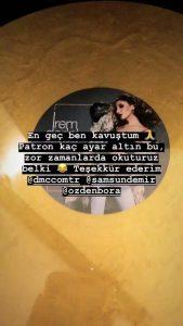 """İrem Derici'nin Altın Plak Sevinci: """"Zor Zamanlarda Okuturuz Belki."""""""