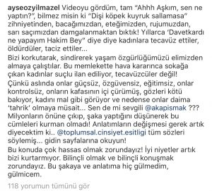 Ayşe Özyılmazel'den Aşkım Kapışmak'a Sert Sözler !