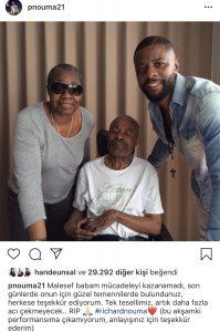 Pascal Nouma Babasını Kaybetti !