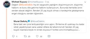 Michael Kuyucu'dan Murat Dalkılıç'ın Hayranlarına: 'Topunuz Gelin Topunuz !'