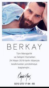 Berkay'ın Yeni Menajeri Kim Oldu?