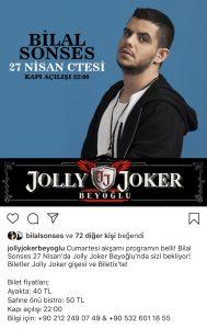 Bilal Sonses Beyoğlu'nu Sallayacak