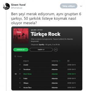 Spotify Listeleri Müzik Dünyasını Karıştırdı
