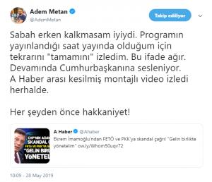 Radyo Camiasından Ekrem İmamoğlu'na Destek