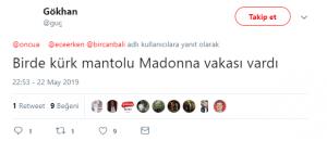 Ece Erken'in Madonna Yorumu Alay Konusu Oldu