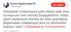 Ferman Akgül'den Galatasaray'a Sürpriz Şarkı