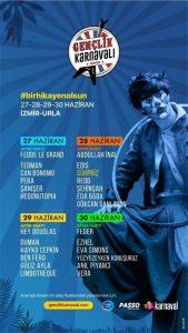 İzmirli Müzikseverler Gençlik Karnavalı'nda Buluşacak