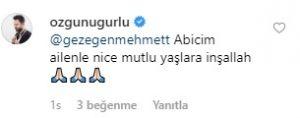 Gezegen Mehmet'e Doğum Günü'nde Mesaj Yağdı