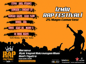 İzmir Rap Festivali İçin Nefesler Tutuldu