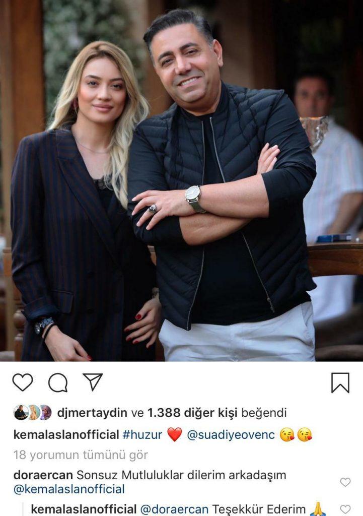 Kemal Aslan ve Şarkıcı Suadiye Yeni Aşka Yelken Açtı